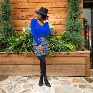 Express Sweaters - Blue Express Sweater